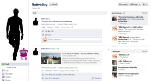 NativeBoy Facebook page