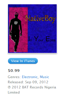 NativeBoy In Your Eyes iTunes